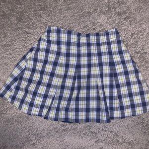 Cute Fall Gap 2 years Plaid Skirt